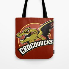 Crocoducks Tote Bag
