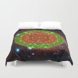 Aztec of nebula Duvet Cover