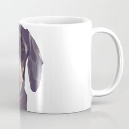 Geometric Sausage Dog Digitally Created Coffee Mug