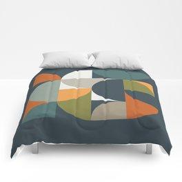 Mid Century Geometric 12/2 Comforters