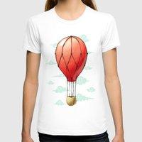 hot air balloon T-shirts featuring Hot Air Balloon by Freeminds