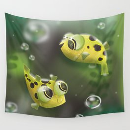 Pea Puffers Wall Tapestry