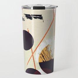 Abstract geometric art Travel Mug