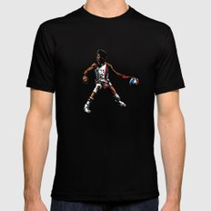 DR. J: On the Offensive Mens Fitted Tee Black LARGE