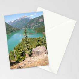 Landscape of Ross Lake Washington Stationery Cards