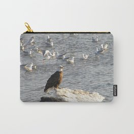 Eagle on Ice Carry-All Pouch
