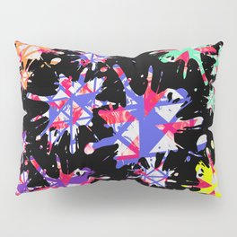 Triangles Pattern 001 Pillow Sham
