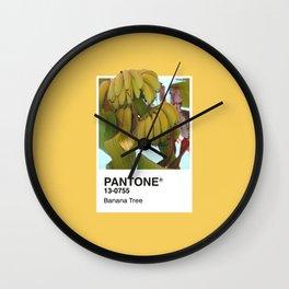 PANTONE SERIES – BANANA TREE Wall Clock