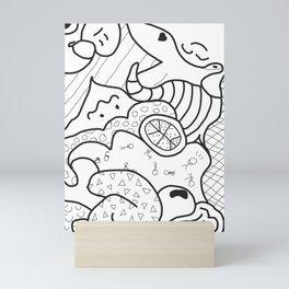 Lil' Line Study Mini Art Print