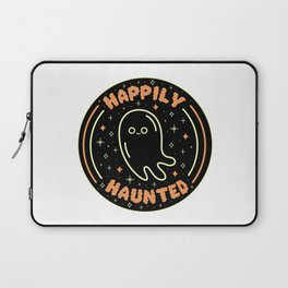 Happily Haunted Laptop Sleeve