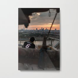 Catching sunsets Metal Print