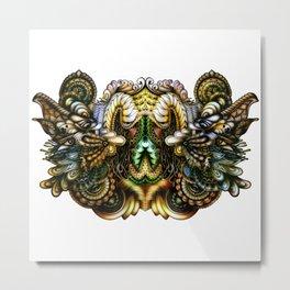 The Dragons Metal Print