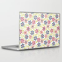 matisse Laptop & iPad Skins featuring Matisse Floral by Rosie Simons