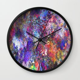 My Paint Shirt Wall Clock
