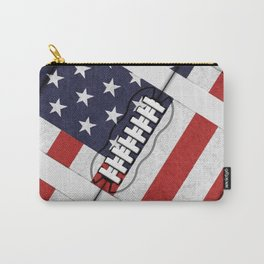 4th of July American Football Fanatic Carry-All Pouch