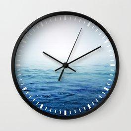 Calm Blue Ocean Wall Clock