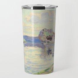 Armand guillaumin La Seine a Samoi Travel Mug