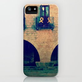 vintage old hause iPhone Case
