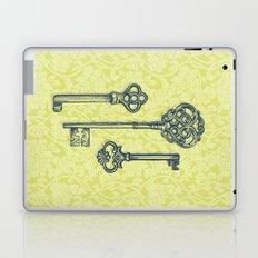 Three Skeleton Keys Laptop & iPad Skin