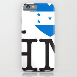 I Love Honduras iPhone Case