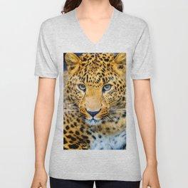 The Cheetah Unisex V-Neck