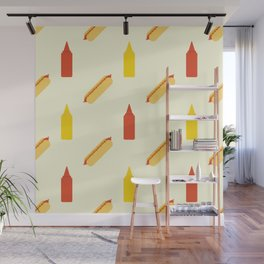 Hot dog Wall Mural
