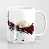 thranduil Mugs featuring Thranduil by MarieJacquelyn
