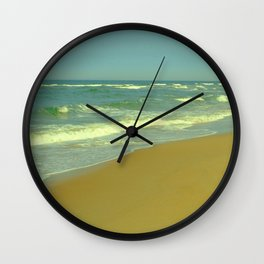 Misty Ocean Wall Clock