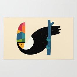 Rainbow Toucan Rug