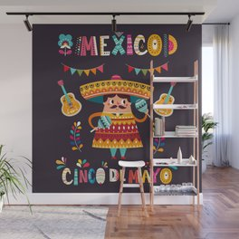 Cinco de Mayo – Mexico Wall Mural