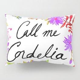 Call Me Cordelia - Purple Flowers Pillow Sham