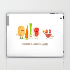 Stranger in a strange larder Laptop & iPad Skin