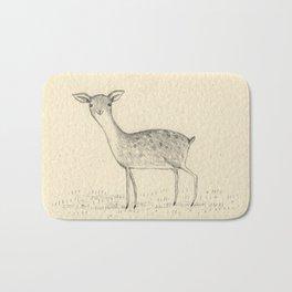 Monochrome Deer Bath Mat