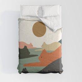 Cat Landscape 93 Comforters