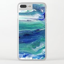 Dolphins Clear iPhone Case