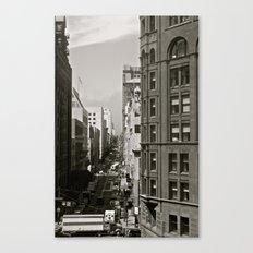 Urban Synthesis Canvas Print