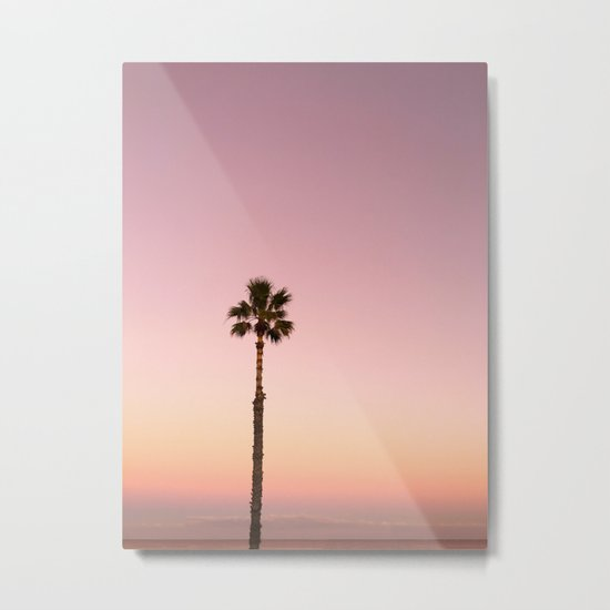 Stand out - ombré pink Metal Print