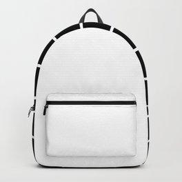 RETROWAVE (BLACK-WHITE) Backpack