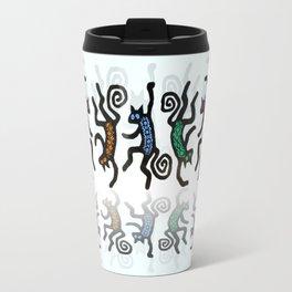 DANCING CATS LINE DANCE Travel Mug