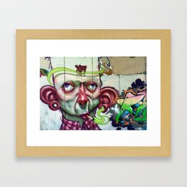 XA NOBLE Framed Art Print