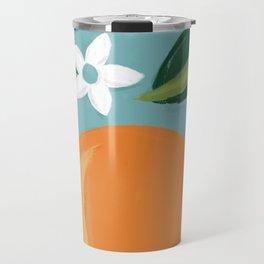 Navel Orange Travel Mug