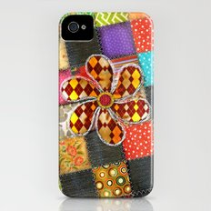 Lady Patchwork (Bulgarian Love) iPhone (4, 4s) Slim Case