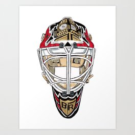 Rhodes - Mask Art Print