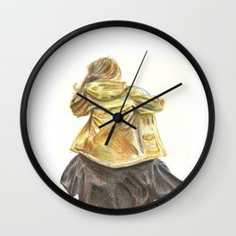 Part of the crowd. Wall Clock