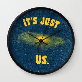 It's Just Us. Wall Clock