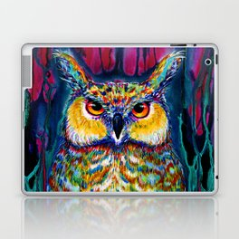 HORNED OWL Laptop & iPad Skin