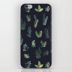 green garden at nigth iPhone & iPod Skin