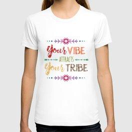 Colorful Tribal Bohemian decorative design T-shirt