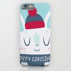 Cozy Winter Rabbit Christmas Card Slim Case iPhone 6s