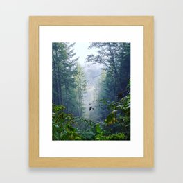 Foggy Freedom Framed Art Print